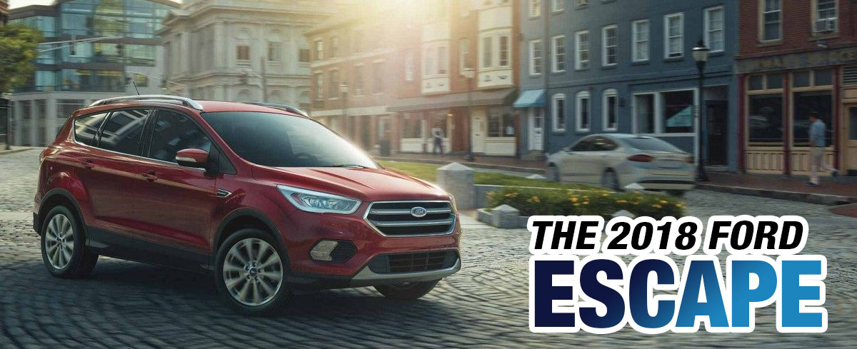 2018 Ford Escape Red Front Exterior