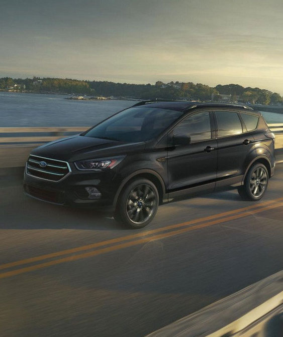 2018 Ford Escape black exterior