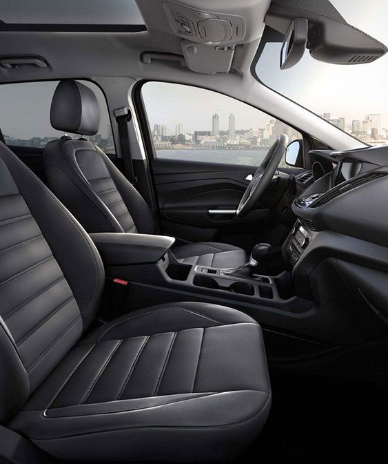 2018 Ford Escape interior front seats