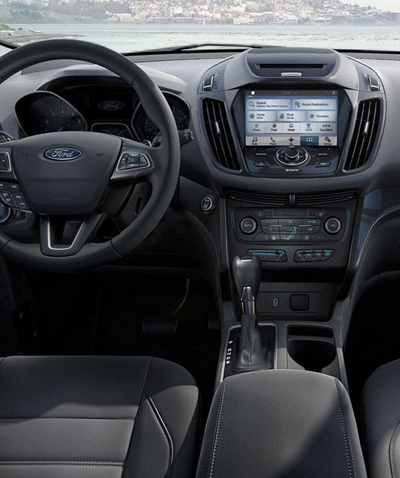 2018 Ford Escape interior touchscreen