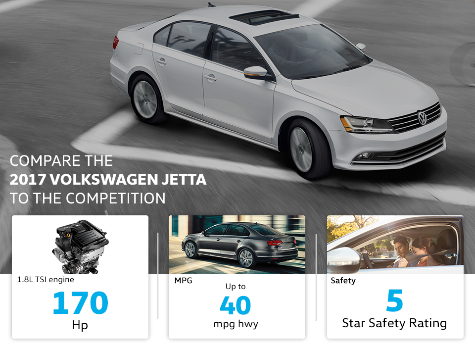 Compare The 2017 Volkswagen Jetta Vw Dealer In Grand